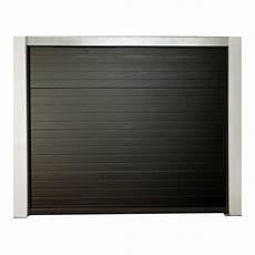 porte de garage sectionnelle motoris 233 e 200x300 cm gris