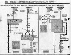 1986 Xlt Power Windows 80 96 Ford Bronco Tech Support