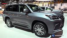 lexus lx 570 black edition 2020 2018 lexus lx 570 two row exterior and interior