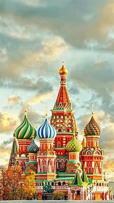 Moscow City Wallpaper For Iphone by Wallpaper Iphone Nature In 2019 St Basils Cathedral