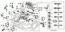 1997 honda civic engine diagram automotive parts diagram images