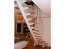 Escalier Acier Quart Tournant Avec Palier Berni 232 Res 76210