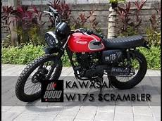 Modifikasi Kawasaki W175 by Modifikasi Kawasaki W175 Scrambler