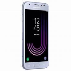 samsung galaxy j3 2017 bleu argent mobile smartphone