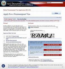 how to obtain a visitor visa for the u s from india