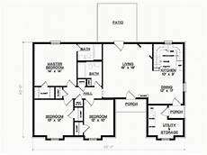 3 bedroom 1 floor plans simple 3 bedroom house floor plans