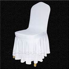 50 white spandex wedding chair covers for weddings banquet folding hotel decoration decor