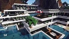 top 10 des plus maison moderne minecraft