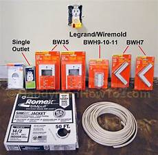 how to wire a closet light with wiremold part 1 closet