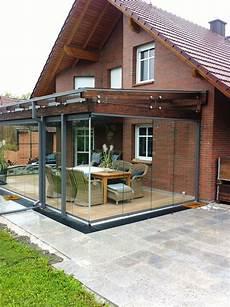 Wintergarten Balkonverbau Verglasung Ganzglaselemente