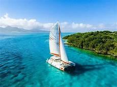 catamaran cruise ile aux cerfs island taxi service mauritius