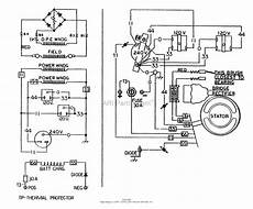 wiring diagram for all power generator briggs and stratton power products 8762 1 580 328191