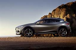 Infiniti QX30 Concept Small Luxury SUV Previews 2016