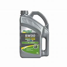 huile moteur feu vert dexos2 essence diesel 5w30 5l feu vert