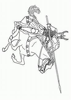Malvorlagen Ritter Und Drachen Knights Coloring Pages