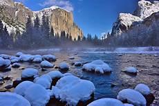 Winter Wallpaper Yosemite National Park