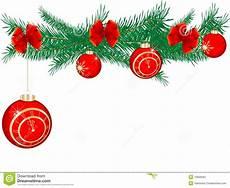 weihnachtsgirlande vektor abbildung illustration