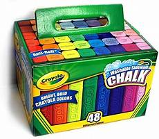 Amazon Com Chalk City Sidewalk Amazon Com Washable Sidewalk Chalk 48 Assorted Bright