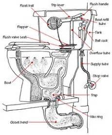 Bathroom Toilet Diagram by How A Toilet Works Toilet Plumbing Diagrams Home