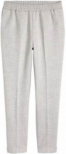 h m suit joggers light gray melange модели