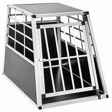 gabbie cani alluminio trasportino gabbia in alluminio per cani da auto large l