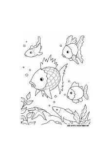 Gratis Malvorlage Net Regenbogenfisch Ausmalbild Kinder Ausmalbilder