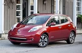 Next Generation Nissan Leaf Electric Car Gets A Much