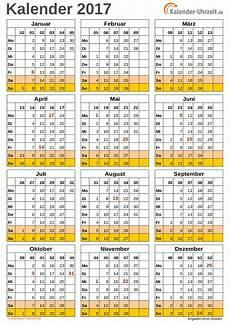 Kalender 2017 A4 Hochformat Vorlage 2 Kaluhr Weitere