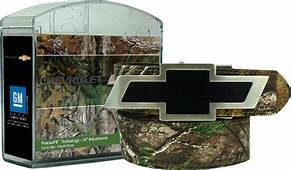Chevrolet Realtree Camo Leather Belt ChevyMall