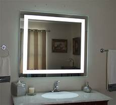 badezimmer beleuchtung spiegel lighted bathroom vanity mirror led wall mounted 48