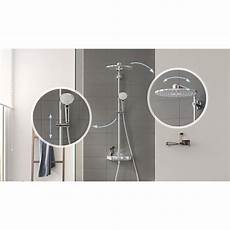 grohe euphoria smartcontrol 310 douchesysteem duo rond