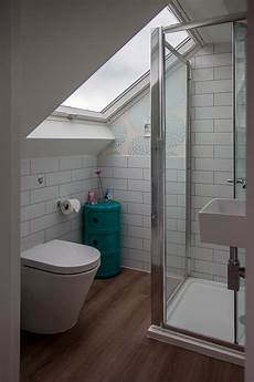 Fitting A Shower Enclosure A Sloping Ceiling Skylofts