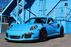 2016 991 gt3 rs paint to sle riviera blue merit partners
