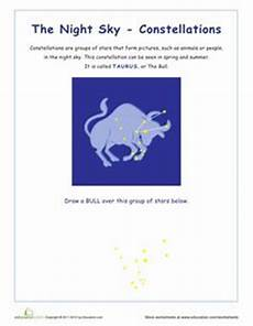 constellation of taurus worksheet 1000 images about constellations on earth