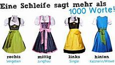 Dirndl Bow What Does It Dirndl Schleife Dirndl