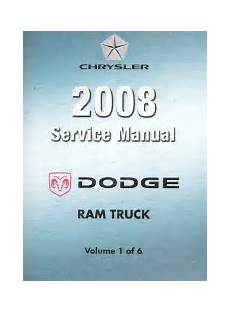 small engine service manuals 2007 dodge ram free book repair manuals 2008 dodge ram truck d1 dc dh dm dr service manual 6 volume set