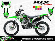Modifikasi Klx 150 Bf by New Klx Bf Se 150 Cc 2015 Collection Joehansb Decal Graphic