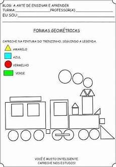 worksheets cars 18820 resultado de imagem para atividades sobre as formas geometricas kindergarten math worksheets