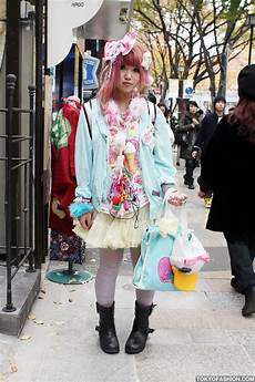 fairy kei fashion japanese girl in harajuku