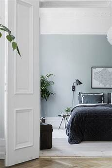 Inspirationen Wohnzimmer Skandinavischen Stil - cozy bedroom in green schlafzimmer im skandinavischen