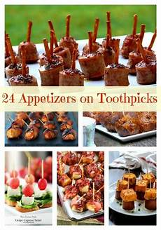 24 and easy appetizers on toothpicks appetizers