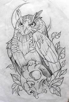 Vogel Malvorlagen Instagram Zeichnung Fred 227 O Tattootatuagem In 2020 Owl