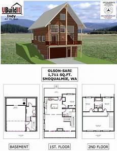a frame house plans with walkout basement olsen sari basement house plans a frame house plans