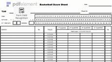 basketball score sheet free download create edit fill print wondershare pdfelement