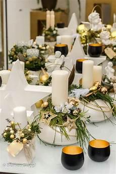 Gesteck Garten Weihnachtstisch Adventskr 228 Nze Und