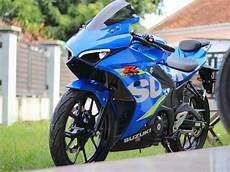 Modifikasi Motor Gsx R150 by Modifikasi Suzuki Gsx R150 Ala Ducati Panigale Keren Cuma