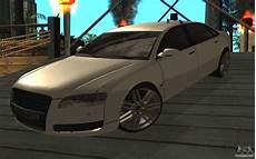 audi a8l d3 for gta san andreas
