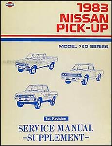 1983 Nissan 720 Series Truck Repair Shop Manual