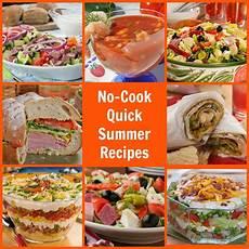 No Cook Summer Recipes Mrfood