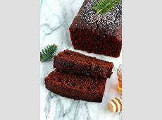 moist gingerbread cake_image